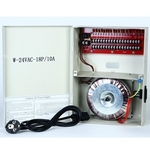 Power Dist 24V AC Box 18 Output 10 Amp PTC